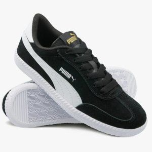 Puma Astro Cup Suede Sneakers Black White Size 5.5